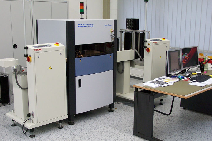 Optical inspections kuttig electronic for Koch 63 od manual